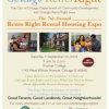 Saturday, September 25th: the Rents Rights Expo