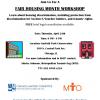 Fair Housing Month Workshop – April 24th