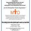 MTO Volunteer Training – 6/11/16