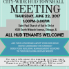 HUD Town Hall Meeting – June 22