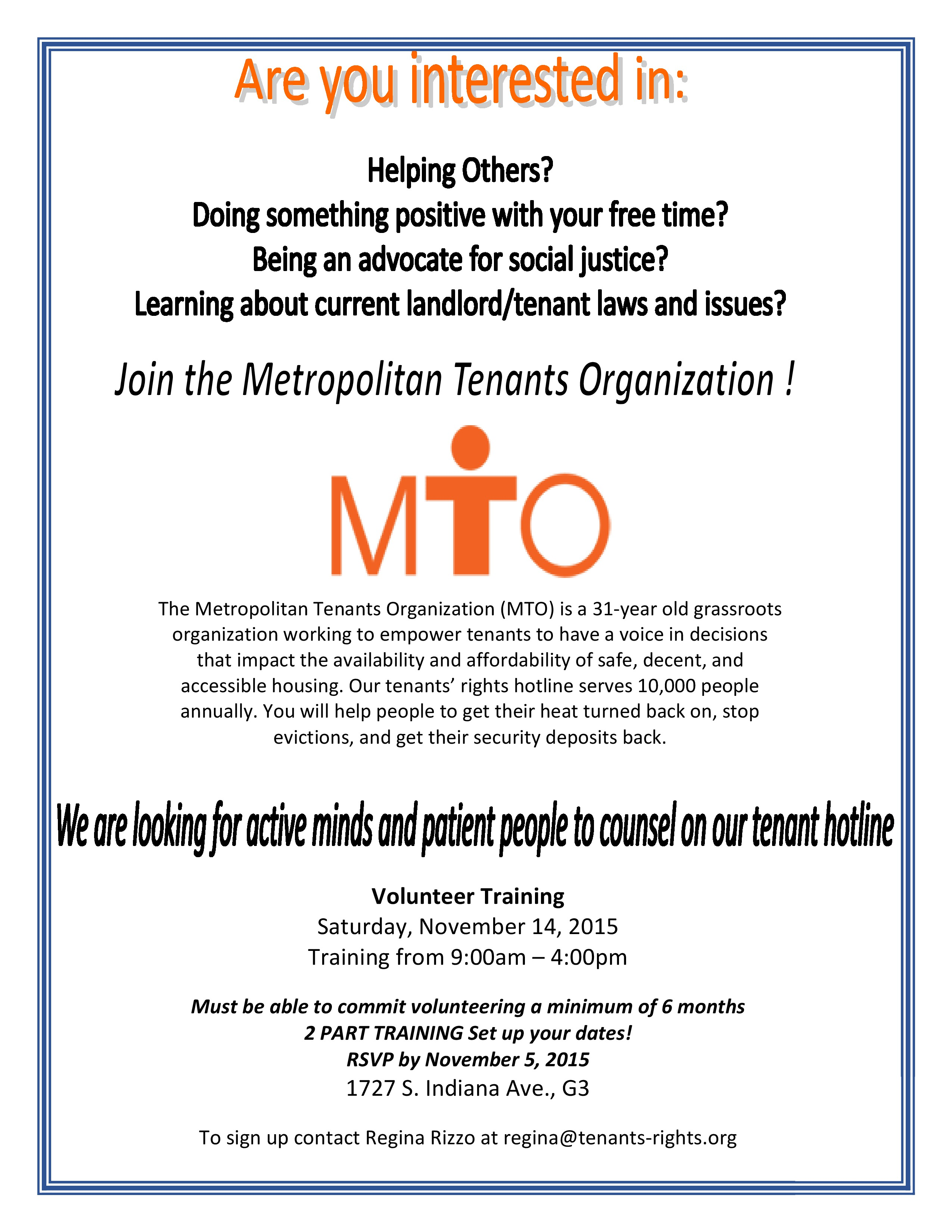Coming soon – Page 5 – Metropolitan Tenants Organization