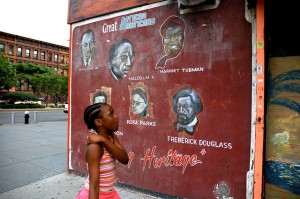 Malcolm x gentrification and housing as a human right for Malcolm x mural
