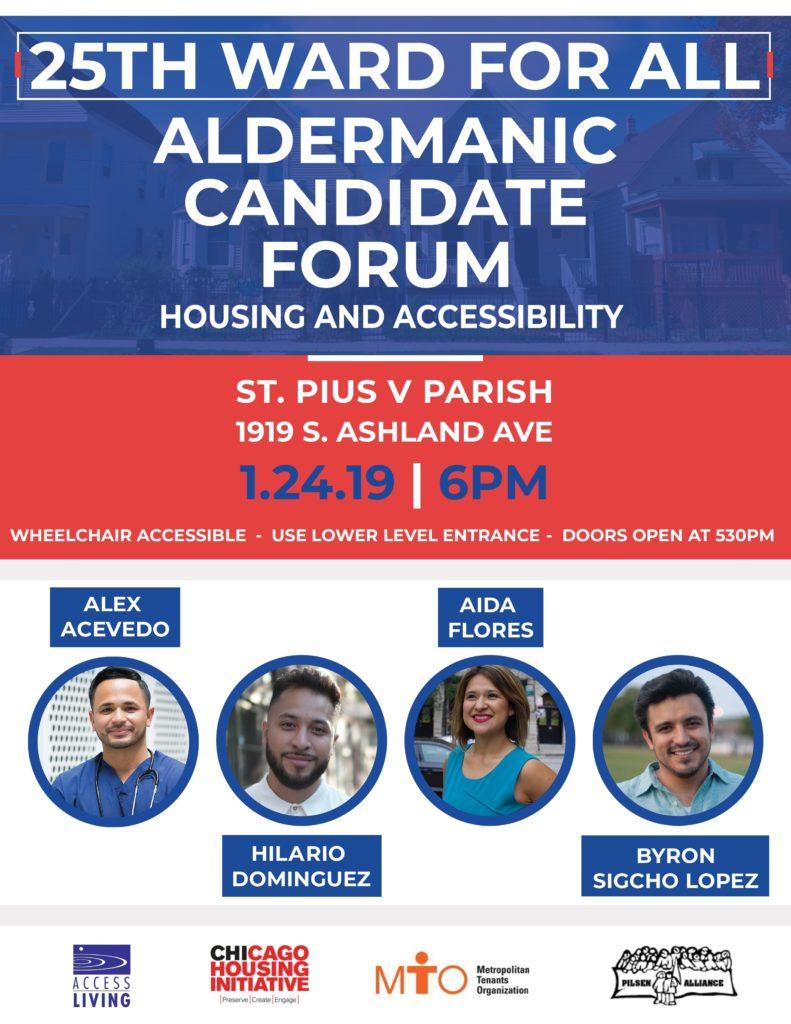 25th Ward Aldermanic Candidate Forum